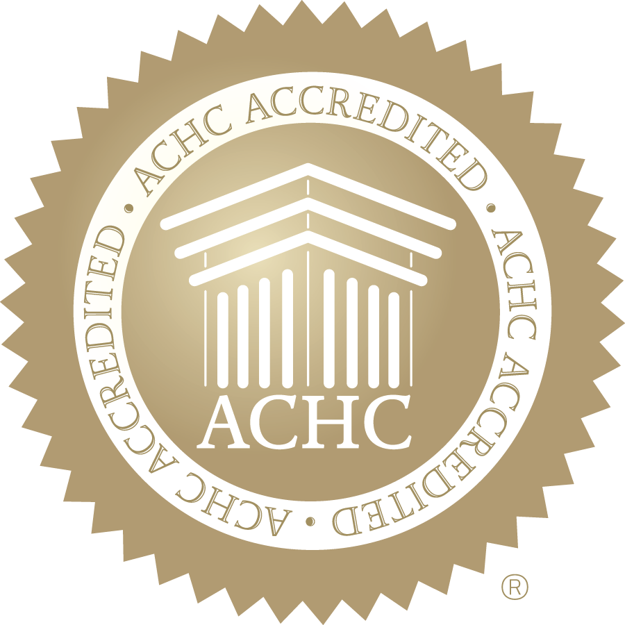 ACHC Gold Seal of Accreditation-CMYK